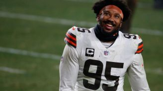 Browns Force Myles Garret To 'Retire' From Basketball After Video Of His Dunk Went Viral