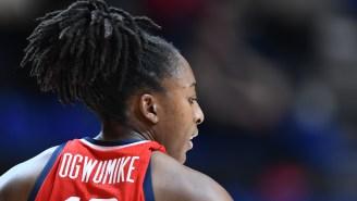 USA Basketball Did Nneka Ogwumike So Dirty
