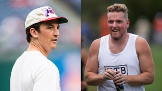 Miles Teller Very Much Not Amused By Pat McAfee's Joke On WWE Smackdown About Him Getting Jumped In Maui