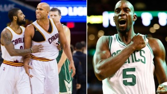 ESPN's Richard Jefferson Calls Kevin Garnett A Hypocrite For Being Angry With Kyrie Irving Over Celtics Logo Stomp