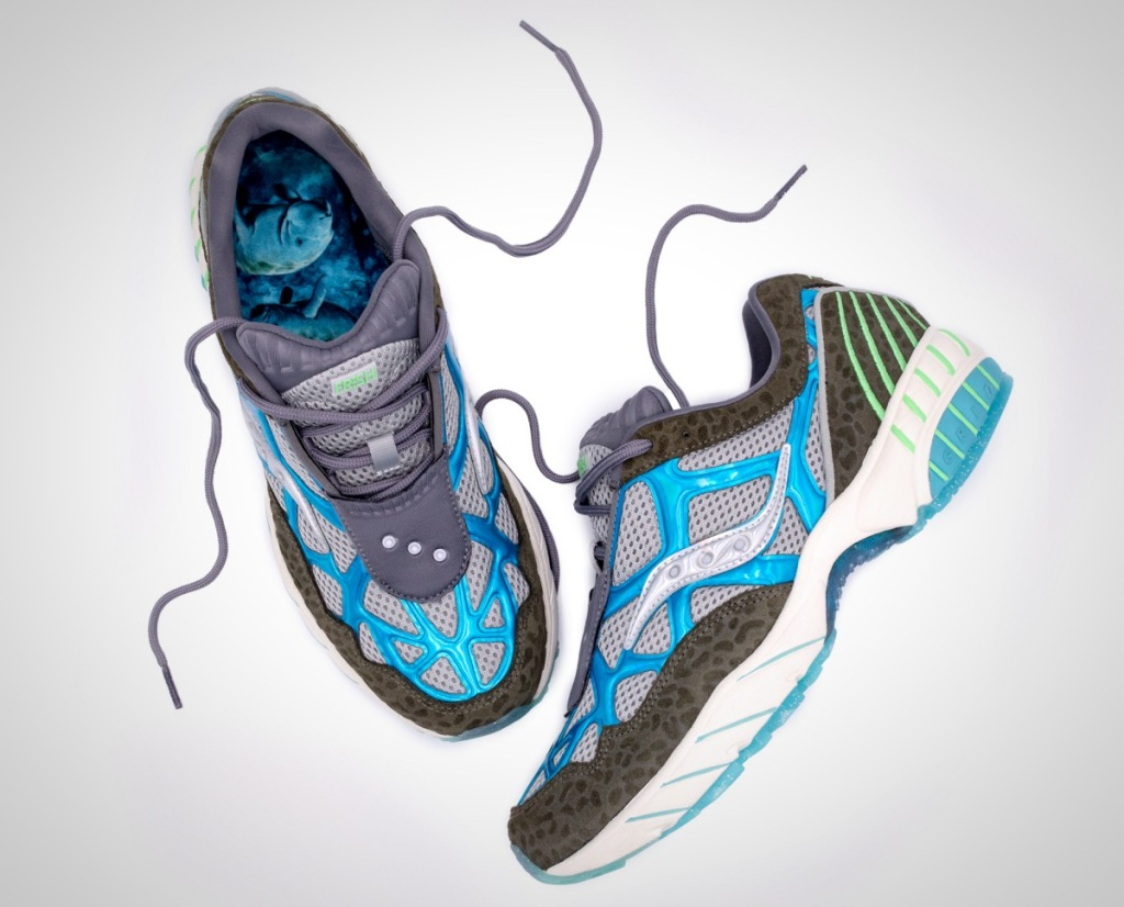 Save the Manatee Saucony sneakers