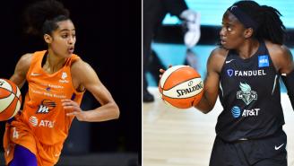 Twitter Beef Between WNBA Players Skylar Diggans And Jazmine Jones Escalates Quickly As Jones Threatens To Fight Diggins