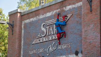 Check Out The Insane, Totally Animatronic Spider-Man That Disneyland Just Unveiled (Videos)
