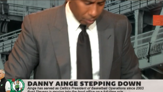 ESPN's Stephen A. Smith Walks Off The Set After Blasting Black NBA Players For Not Speaking Out Against Brad Stevens' Promotion By Celtics