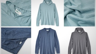 These Performance Hoodies And Henleys Were Built For Sunny Summer Days On The Water
