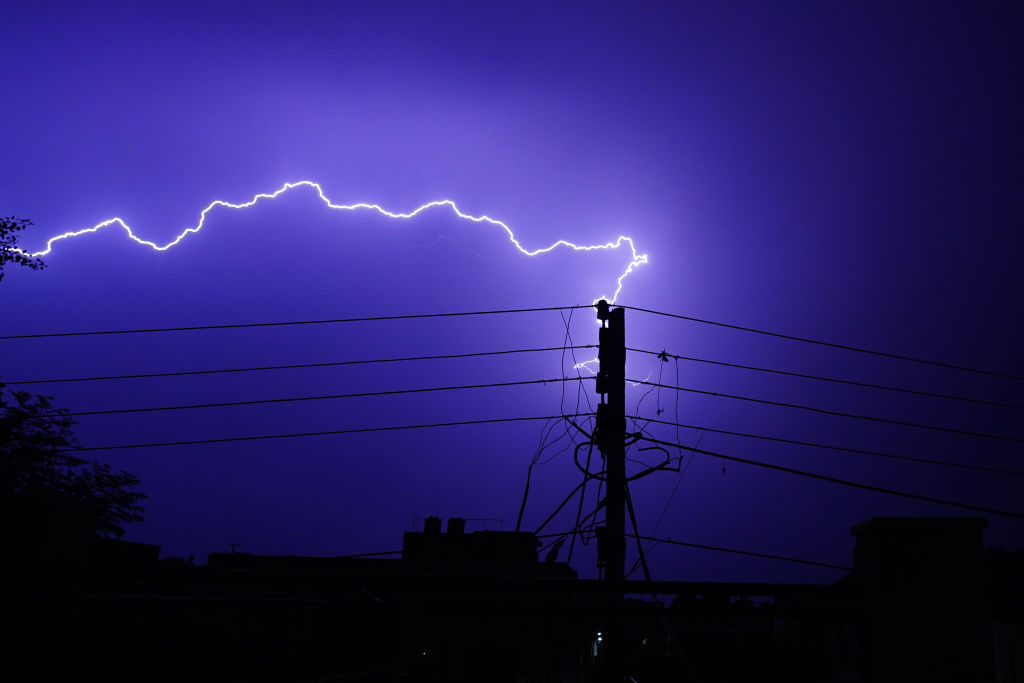 18 deaths from Lightning Strike in India at popular selfie spot for tourists