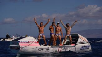Four-Man Crew Rows From San Francisco To Hawaii In Record Time And It's As Grueling As It Sounds