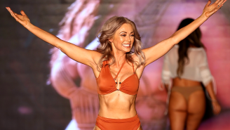 57-Year-Old SI Swimsuit Model Kathy Jacobs Is Showing No Signs Of Slowing Down