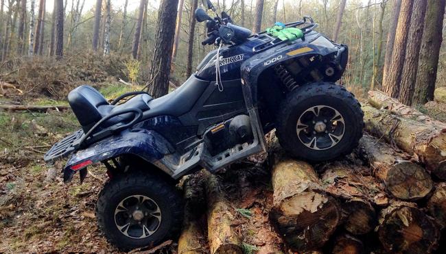 man survives ATV crash keystone light