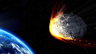 A Gigantic Asteroid Going 18,000 MPH Is On 'Close Approach' With Earth This Month