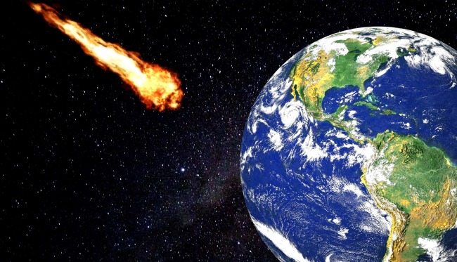 Asteroid 2019 YM6 on close approach earth