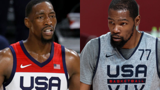 We've Got Some Team USA Drama On Our Hands Thanks To Kevin Durant And Bam Adebayo