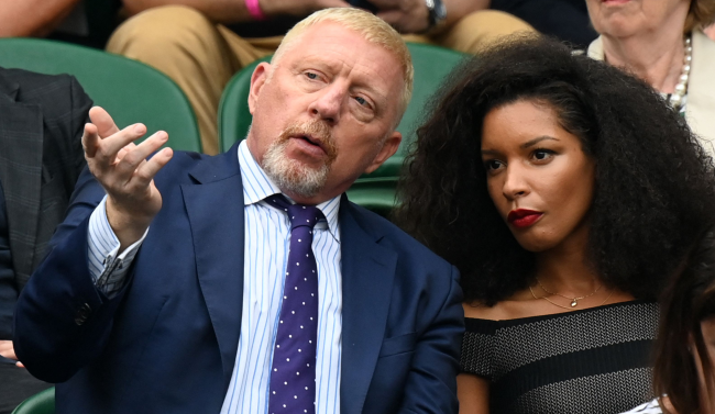 Boris Becker Causes Firestorm For Calling Players Fiancee Pretty
