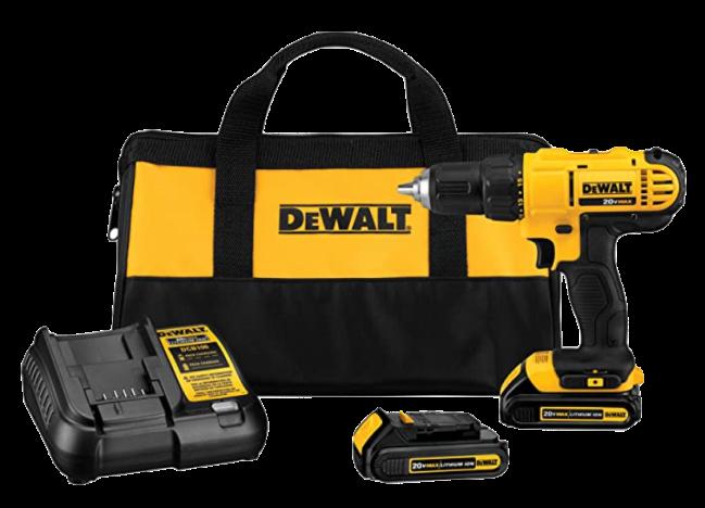 DEWALT 20V Max Cordless Drill Driver Kit