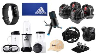 Daily Deals: Dumbbells, Fitbits, Blenders, Mics, Nike Sale And More!