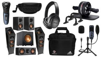 Daily Deals: Speaker Bundles, Ab Rollers, Shavers, Nike Sale And More!
