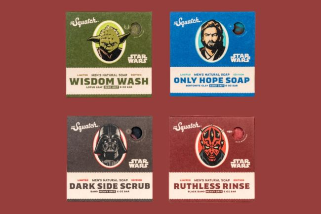 Dr. Squatch Star Wars Collection