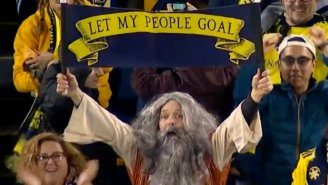 'Soccer Moses' Declares That His People Must Goal And European Footy Fans Are FURIOUS