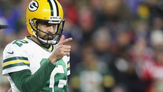 The Packers Reportedly Changed Aaron Rodgers' Mind From Sitting Out Season Over The Weekend By Giving In On Contract Concessions