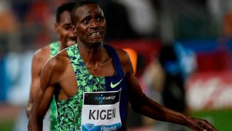 WATCH: Kenyan Track Star Thinks Race Is Over With One Lap Left, Loses Badly