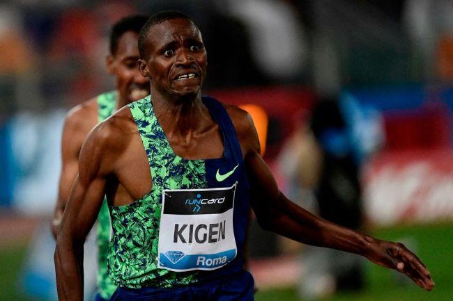 Benjamin Kigen ATHLETICS-ITA-IAAF-DIAMOND