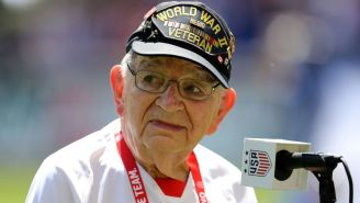98-Year-Old Veteran Pete Dupré Playing A Harmonica National Anthem On 4th Of July Weekend Is As Patriotic As It Gets