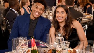 Giannis Antetokounmpo's Girlfriend Takes A Shot At ESPN's Kendrick Perkins Over His Criticism Of Giannis Throughout Playoffs