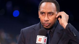 ESPN's Stephen A. Smith Embarrassingly Name Drops Cameroonian UFC Fighter Francis Ngannou While Apologizing To Nigerian Basketball Team