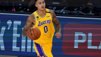 Lakers Fans Mock Kyle Kuzma After He Said He Would Put Up All-Star Stats If Given 'Consistent Role' With A Team
