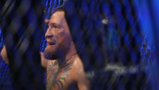 New Cageside Video Shows An Injured Conor McGregor Threatening To Kill Dustin Poirier And His Wife After UFC 264 Fight