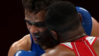An Olympic Boxer Was Disqualified After Going Full Mike Tyson, Trying To Bite His Opponent's Ear Off