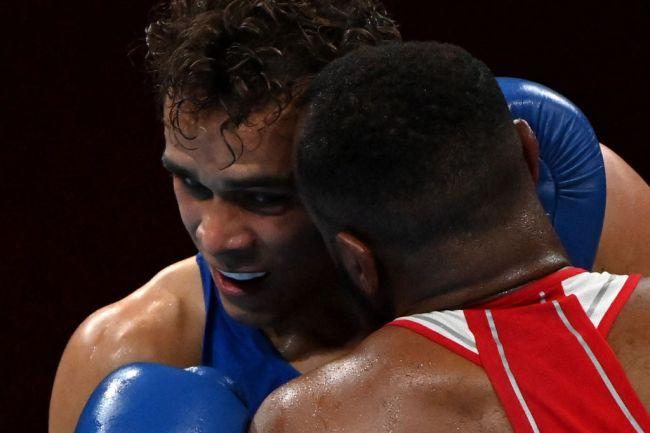 Youness Baalla David Nyika Boxing Ear Bite Olympics