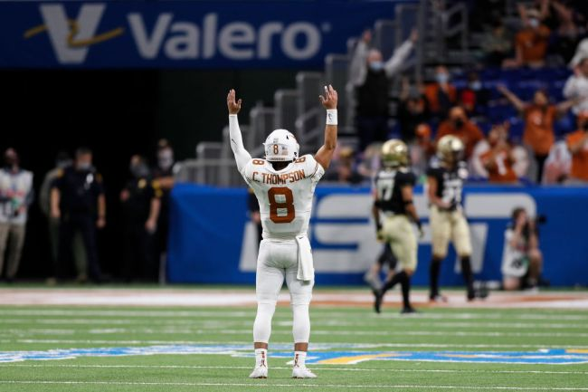 Casey Thompson Texas Quarterback