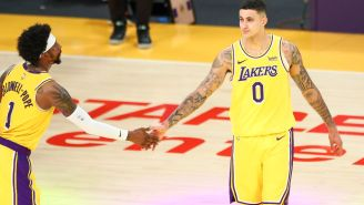 The Lakers Have Reportedly Offered Kyle Kuzma And Kentavious Caldwell-Pope To 'Almost Every Team' In The League In Trade Talks