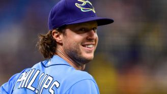 WATCH: Rays Outfielder Brett Phillips Made An Absolutely Hilarious Pitching Debut