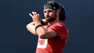 Gardner Minshew Is Refusing To Poop Before His QB Battle With Trevor Lawrence Because 'No. 2 Is Not An Option'