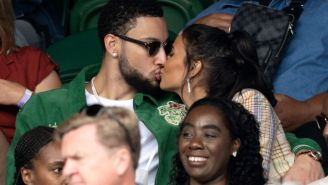 NBA Fans React To Ben Simmons Making Out With TV Host Maya Jama At Wimbledon Instead Of Working On His Game
