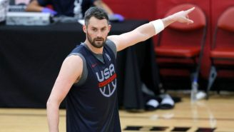 Team USA Olympic Coach Gregg Popovich Has A Message For The Kevin Love Haters