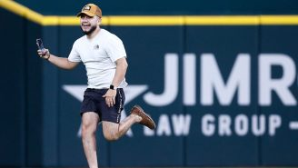 Texas Rangers Streaker Posts Hilarious POV Video Of Himself Storming The Field, Claims Being 'Tortured'