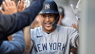 Giancarlo Stanton's TOWERING Home Run Secures Second Date For Yankees Fan In Seattle