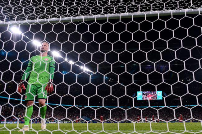 Kasper Schmeichel England v Denmark - UEFA Euro 2020: Semi-final