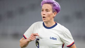 People Are Extremely Angry Megan Rapinoe Is Promoting Cannabis Products During Olympics After Sha'Carri Richardson Suspension