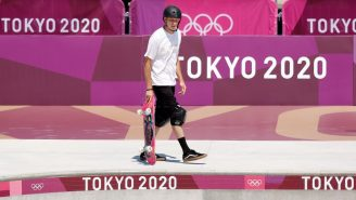 Tony Hawk Took Over The Tokyo Olympics Skate Park And Proved He's Still Got It Ahead Of Skateboarding's Debut