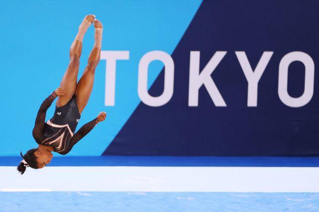 Simone Biles Tokyo Floor Routine Olympics
