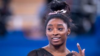 Simone Biles Is Already Doing Superhuman Things In Tokyo During Olympic Podium Training