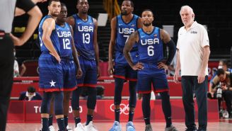 Team USA Players Are Reportedly Frustrated With Coach Gregg Popovich Running 'San Antonio Offense' After Loss To France