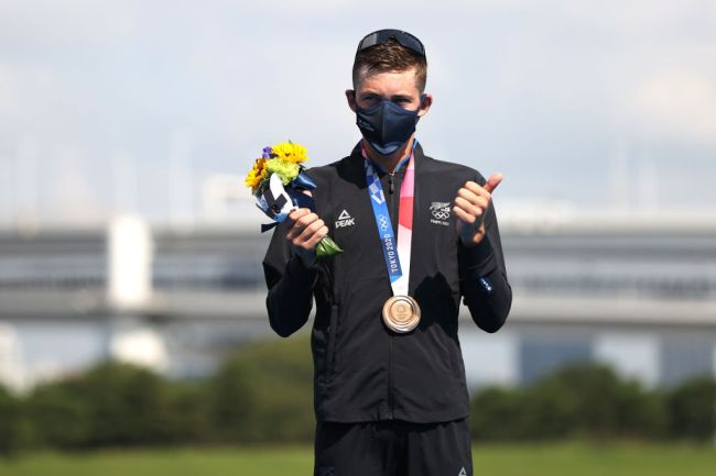 New Zealand triathlete Hayden Wilde won an Olympic bronze medal at the Tokyo Olympics for his ex-girlfriend to realize what she was missing.