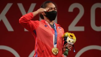 The Philippines Is Giving Its Country's First-Ever Gold Medal Winner A LOT Of Cash After Upsetting China In Tokyo