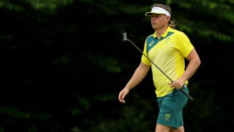 LOOK: Aussie Golfer Cam Smith Somehow Made His Mullet Even More Glorious For The Olympics