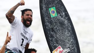 Surfing's First-Ever Olympic Gold Medalist Almost Didn't Qualify Because His Passport Was Stolen